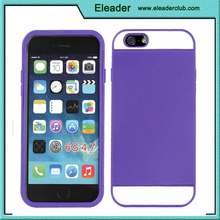 Rubber Hybrid Armor Impact Case For iPhone 6