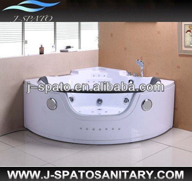 2014 New Style Acrylic Full Automatic popular back massager water tubs led spa bath