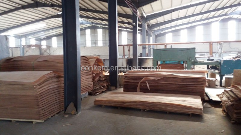 Natural Wood Veneer Veneer Type and Sliced Cut Technics Bintangor veneer