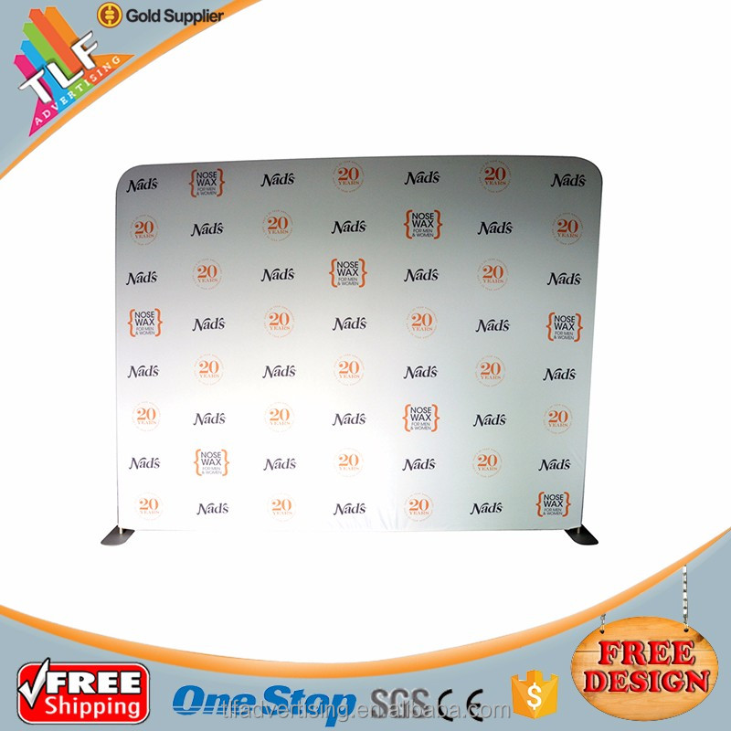 Aluminium Tension Fabric Exhibition Display Trade Show Booth