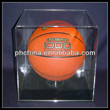 Long-term Use And Elegant basketball display stand/basketball display rack/acrylic basketball display case