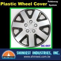 2015 Wheel's best friend Universal Durable Plastic Wheel Covers SC-007 15 inch Car Wheel rim Covers