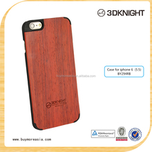 "5.5"" wood case for iphone 6 plus,wooden back cover case for iphone 6plus"