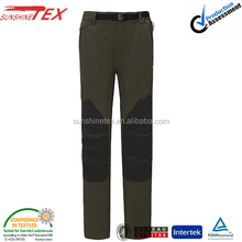 mens waterproof softshell sports polyester track pants