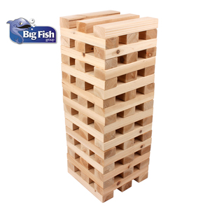 Outdoor Game Wooden Block Giant Tumbling Tower Blocks For Kids & Adults
