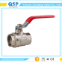 hot sale brass cf8m ball valve picture