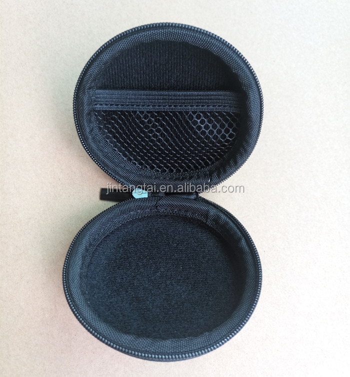 Earphone case EVA case for bluetooth headset, spinning top stroage case