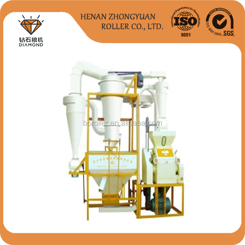 Small scale 10 ton per day wheat flour milling machine/wheat grinder processing machine in russia