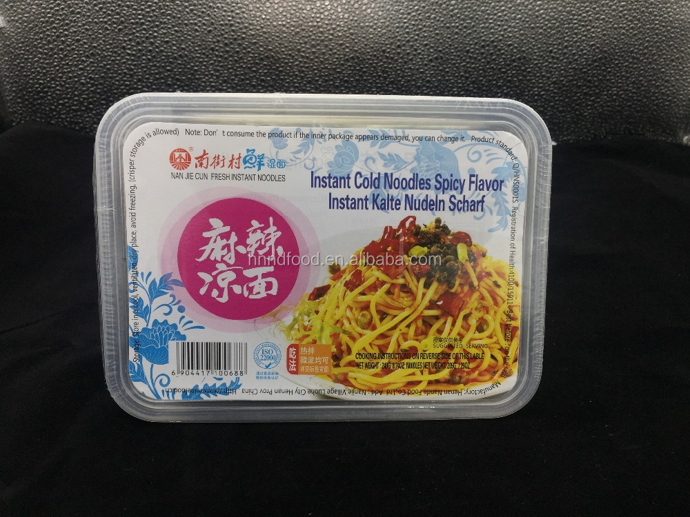 hot spicy flavor instant cold noodle Suitable for all people