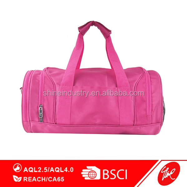 Pratical Polyester Travel Duffle Sports Bag