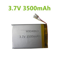 Lithium Polymer Battery 3500mAh 904863 3.7V Li-Polymer Battery Power Bank Lithium Polymer Battery ROHS,UN.38.3