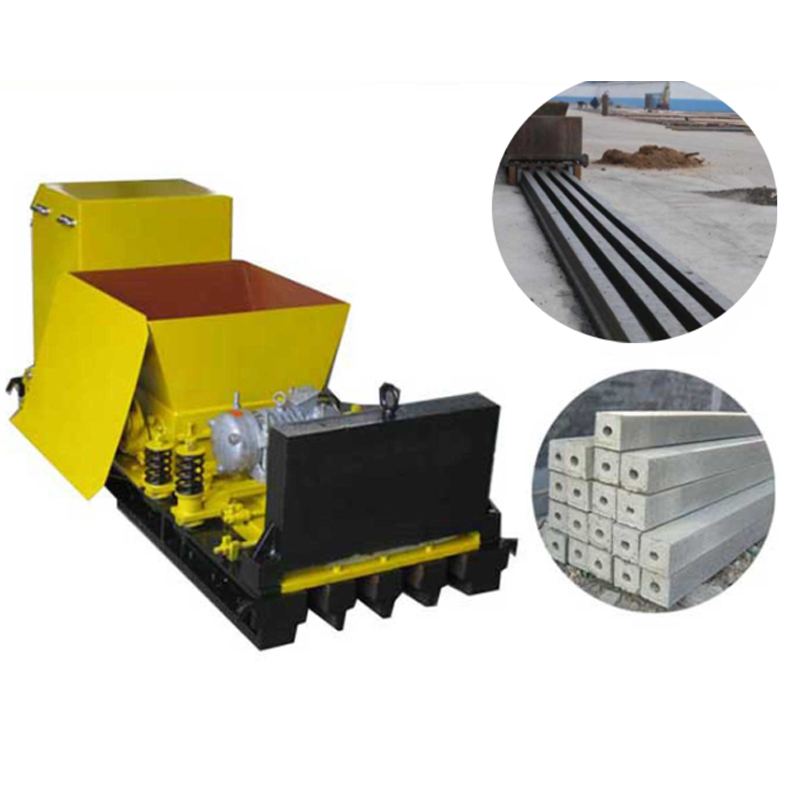 Electric precast concrete T beam lintel making machine
