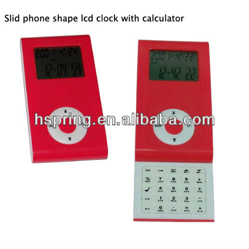 Sliding pocket calendar calculator