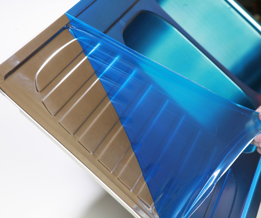 surface protection type blue film for stainless steel panels