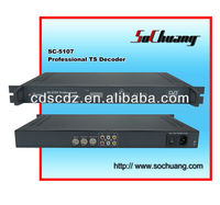 DVB-S Satellite Decoder/Decoder Digital Cable TV