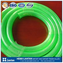 newest flexible colorful pvc garden hose water hose with brass fittings