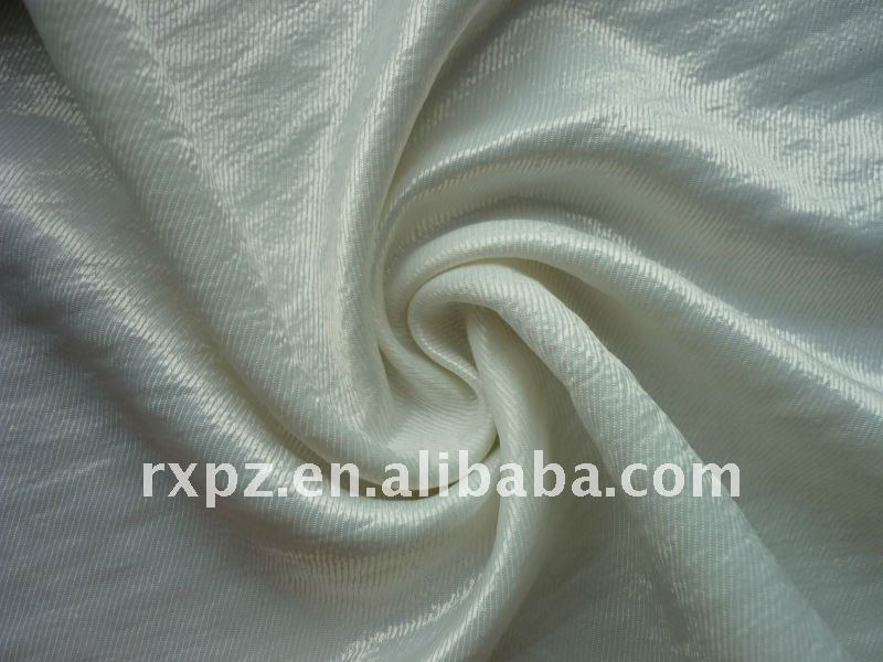 Polyester Twill Satin With Washing Effect kebaya satin fabric