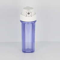 High quality Ningbo Dingan CE Certified 10 inch Clear Water Filter Housing