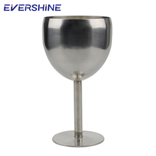Wholesale 250ML Party Wedding Champagne 304 Stainless Steel Wine Goblet