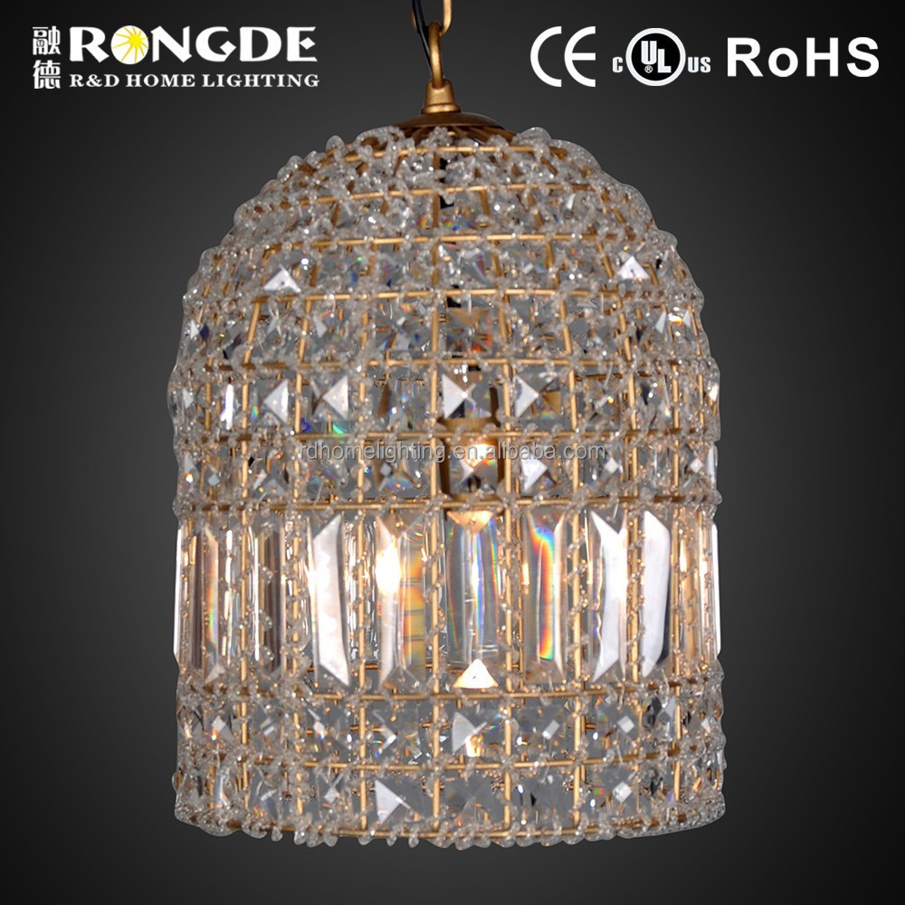 Modern led crystal chandeliers in china