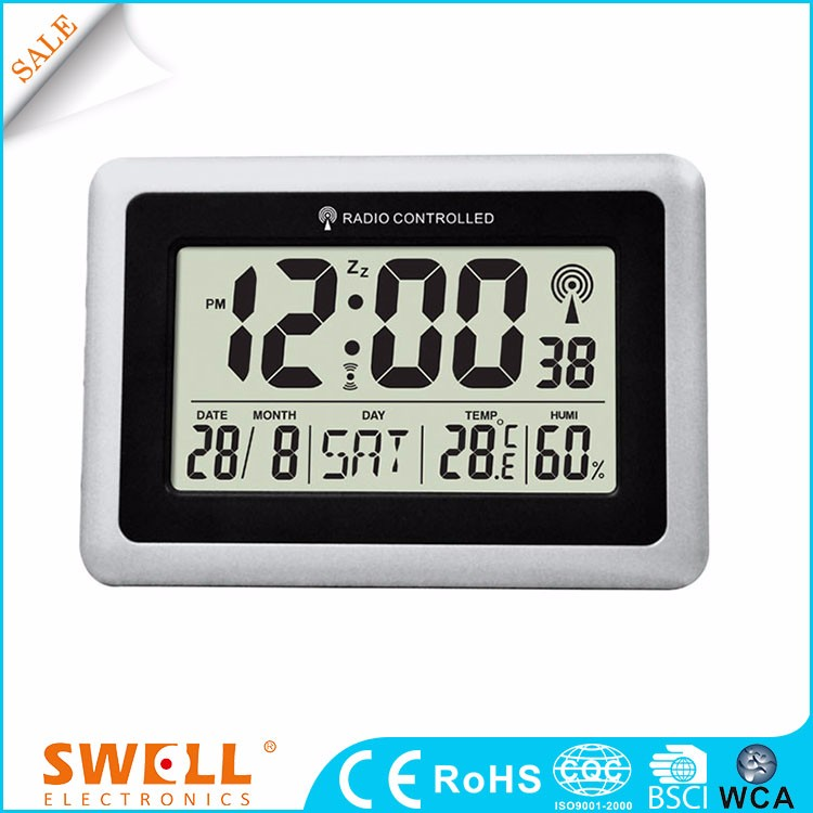 radio control clock time , weather forecast electronic clock