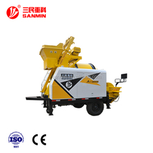 Diesel&Electric Roller Concrete Mixer Pump as good as sany