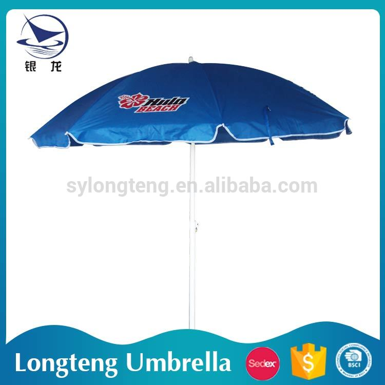 Hot sale OEM and ODM Sunshade Polyester swimming pool umbrella