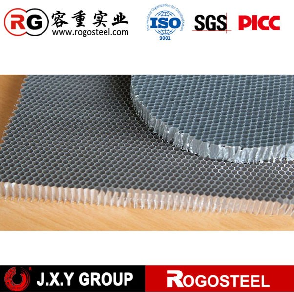 Aluminum honeycomb for ventilation
