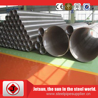 high density astm a312 316L 6 inch welded stainless steel pipe