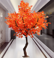 High quality decoration trees artificial maple trees factory supply