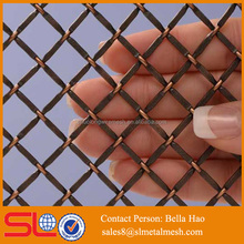 Classic copper mesh for decoration stair protection
