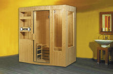 Monalisa Outdoor Sauna Room,Traditional Classic Sauna Cabin, Finish Pine Wood