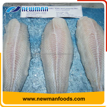 Vietnam fresh sea bass good quality skinless and boneless frozen pangasius fillets
