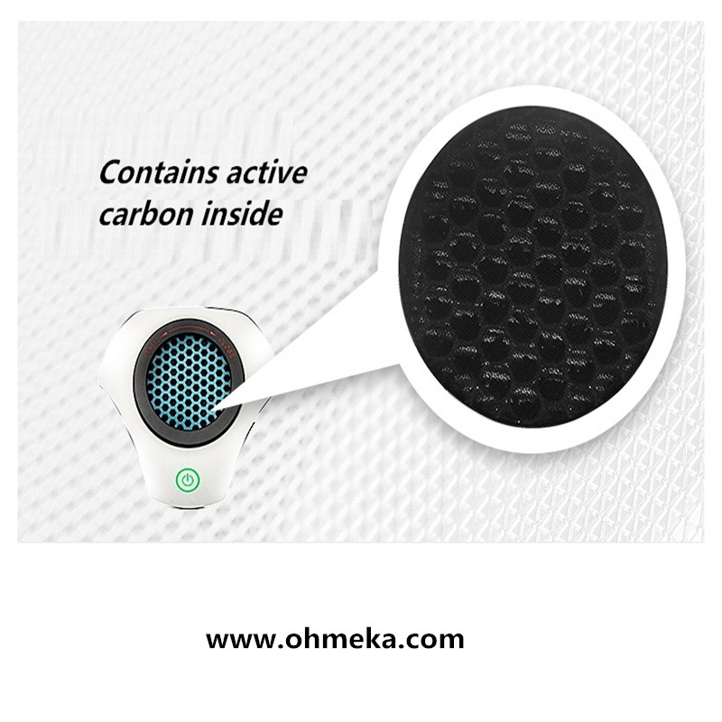 Air purifier /Air cleaner and Aromatherapy Aroma Humidifier with axial fan, LED lights detect air