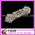 Hot Fix Crystal Beaded Rhinestone Applique for Bridal Wedding Belts and Sashes