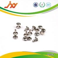 stainless steel double cap rivet