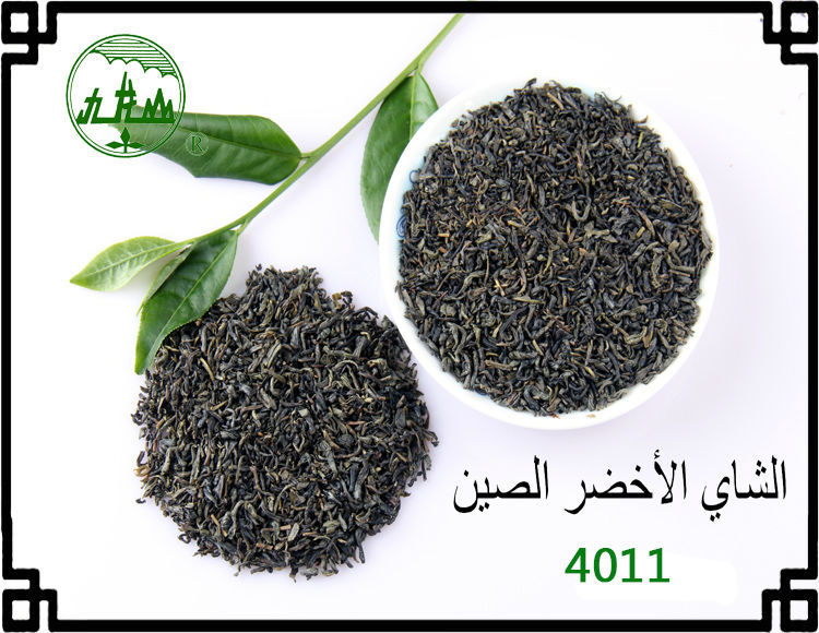 Bag Packing No Pollution High Quality Chunmee Green Tea 4011