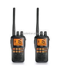 Uniden MHS75 - JIS8 Submersible, Memory Channel Scan, All USA/International & Canadian Marine channels VHF Radio Walkie Talkie
