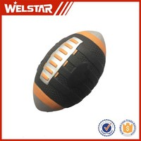 PU Material and Soft Toy Style stress ball Soft American Football PU Rugby for Reliever