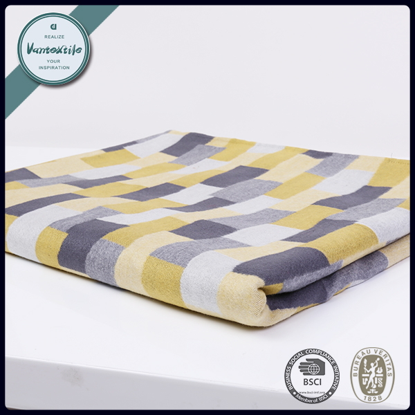 Casual style warm flannel blanket custom design printed blankets