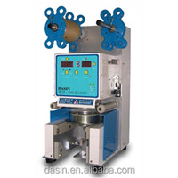 Professional Automatic Plastic Bubble Tea Cup Sealing Machine