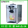 Lvni Commercial Use Stainless Steel Tabletop Ice Cream Machine