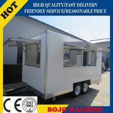 2015 hot sales best quality mobile restaurant cart breakfast foodcart mobile kitchen