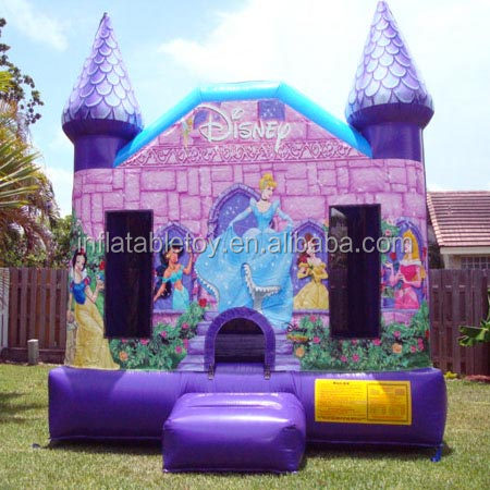 Customize Princess Castle Inflatable Bounce House/ Bouncy Castle/ Bouncer and Jumper for Kids
