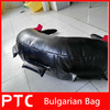 Leather power training bulgarian bag