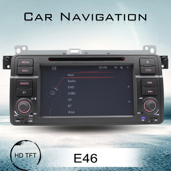 7 Inch one Din Car Dvd With Navigation For E46 Car Dvd