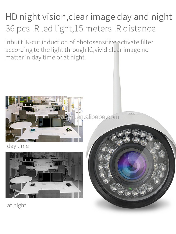 "EasyN 185 5x optical zoom Outdoor WIFI ip camera 1/3"" CMOS 960P H.264 compression format, 3 video stream output night vision"