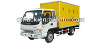 Right hand drive 5 tons JAC 4*2 anti-explosive van truck exported model +86 13597828741