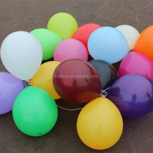 Factory in stock shiny latex air balloons
