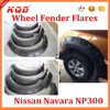 Fit For Np300 Navara Fender Flares Black Fender Flares For Frontier NP300 Offroad Fender Flares For Navara 2015